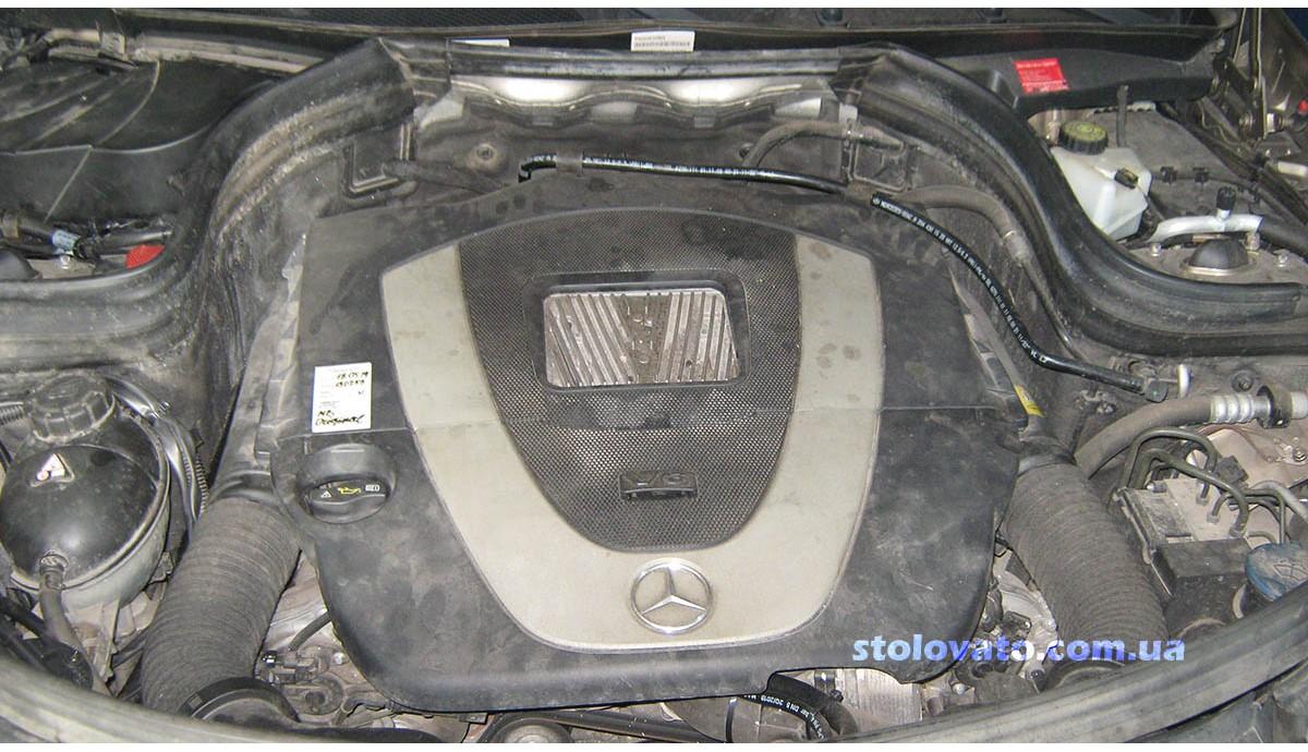 Установка ГБО на Mercedes Benz GLK 350