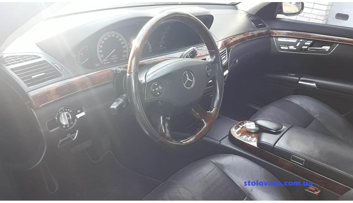 Установка ГБО на Mercedes Benz S500 5.5 2006
