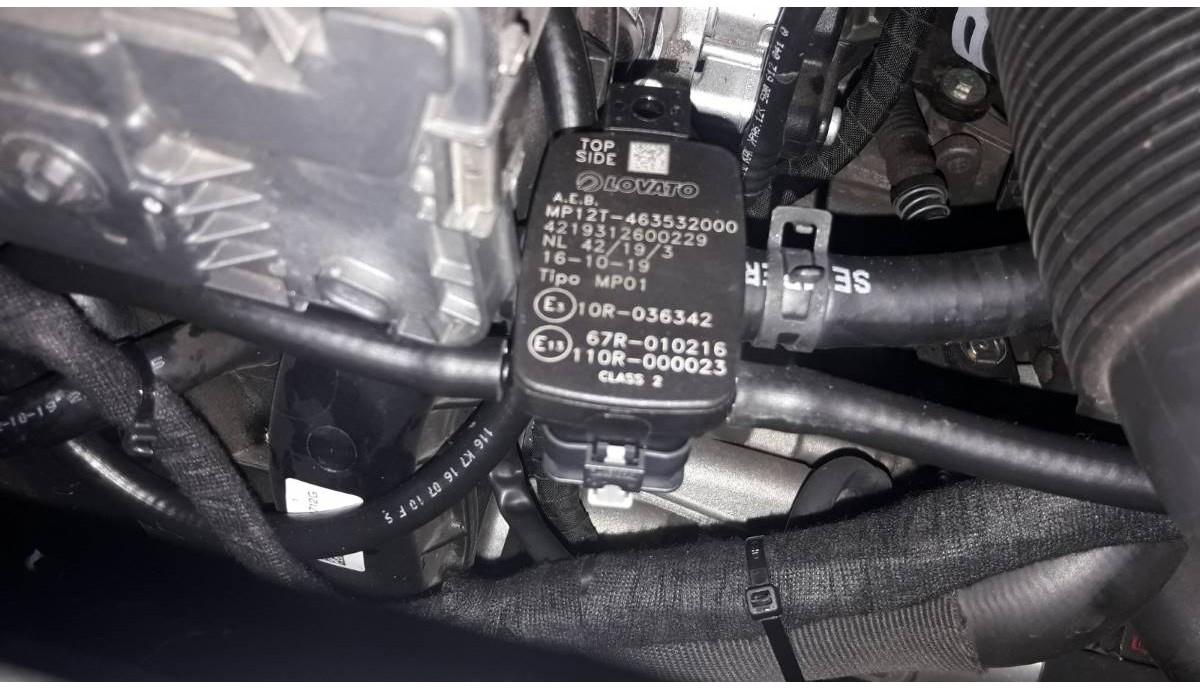 Установка ГБО на Skoda Octavia 1.6 MPI 2019