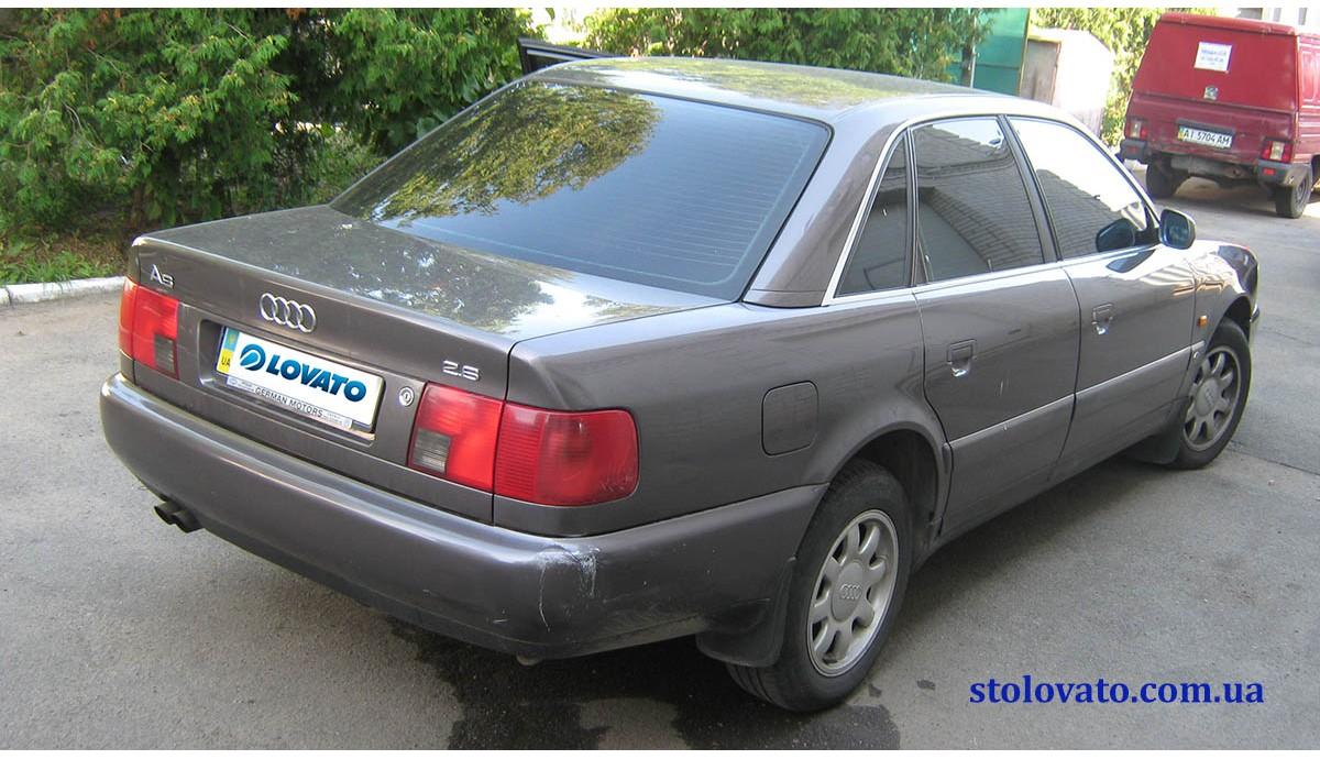 Установка ГБО на AUDI A6 2.6 1996