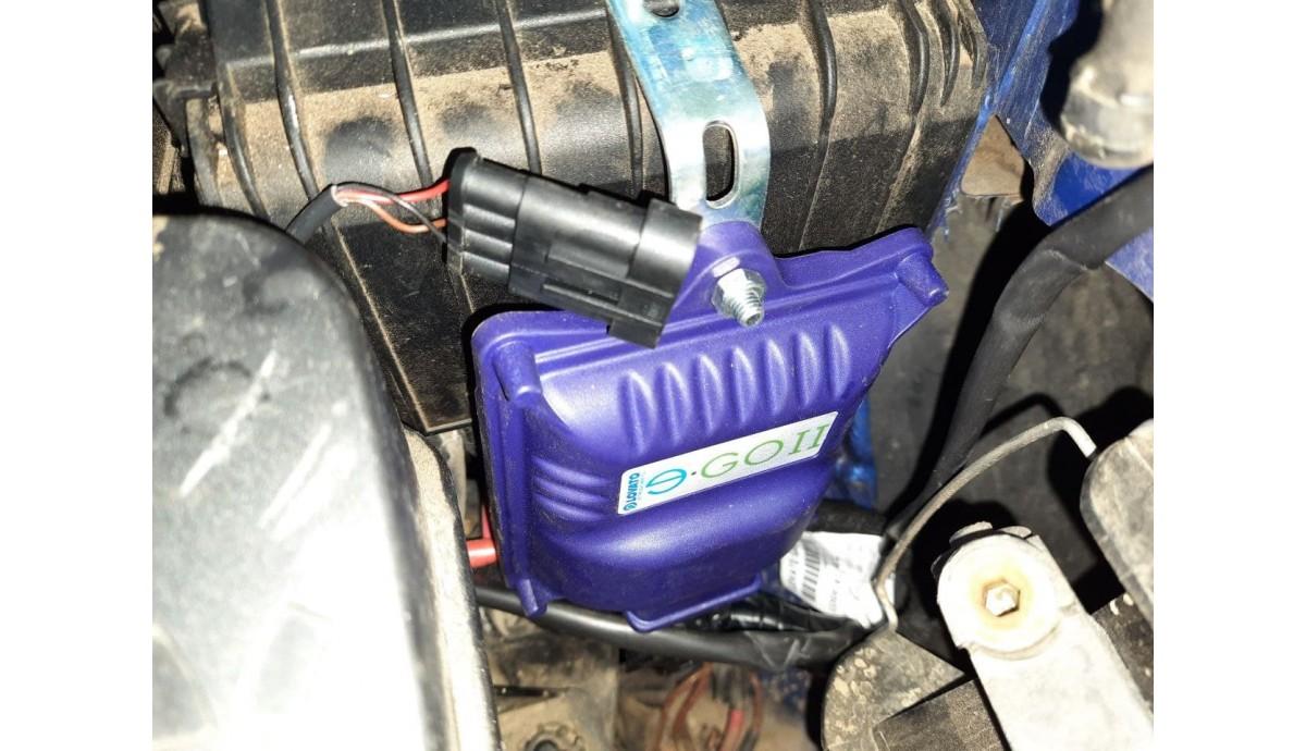 Установка ГБО на Volkswagen Caddy 1.6 2005