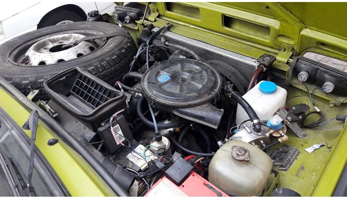 Установка ГБО на Lada Niva 1.6 1998