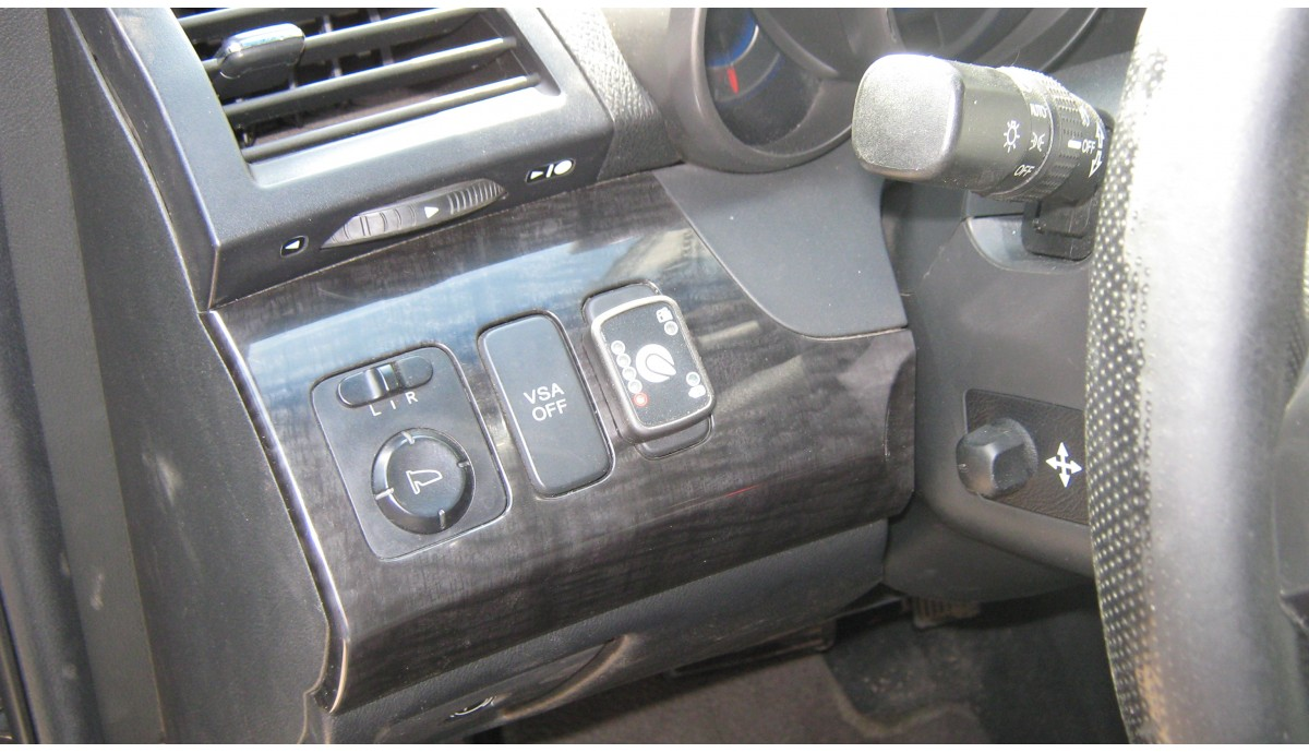 Установка ГБО на Acura MDX 3.7 2008