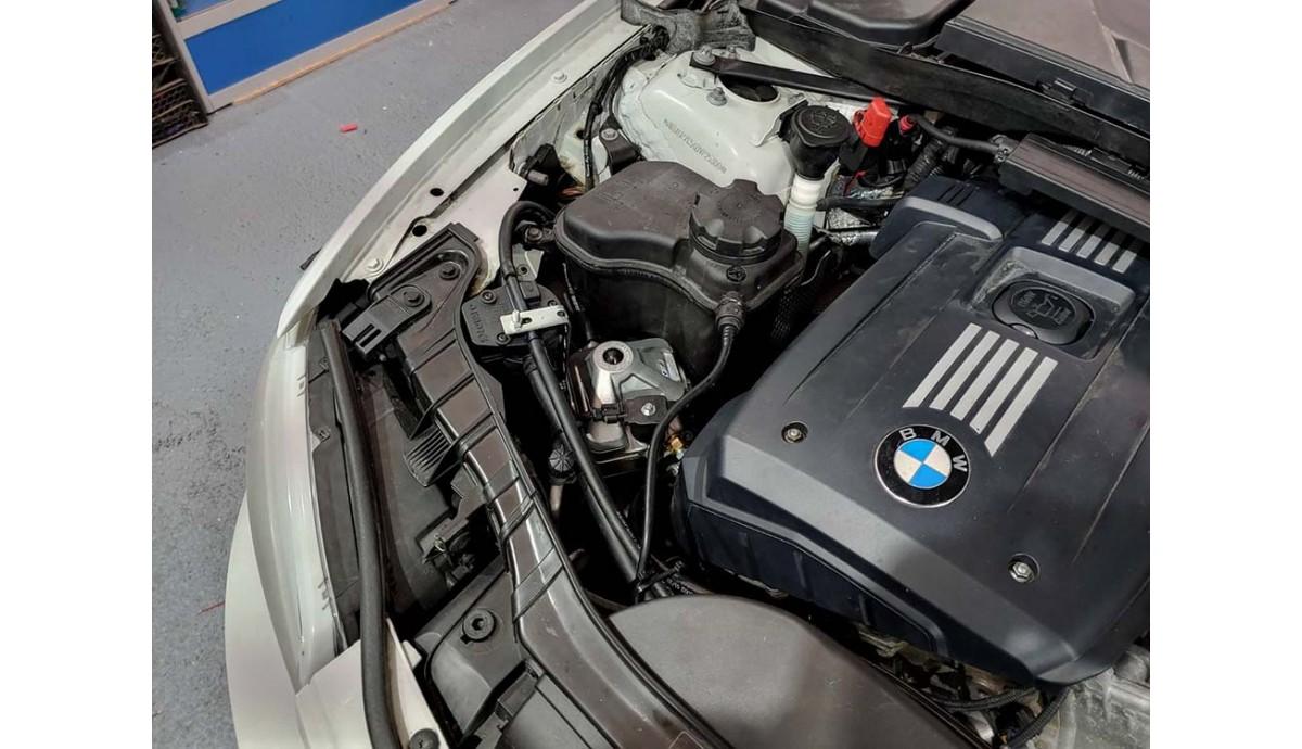 Установка ГБО на BMW 128i
