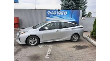 Установка ГБО на Toyota Prius 1.8 2016