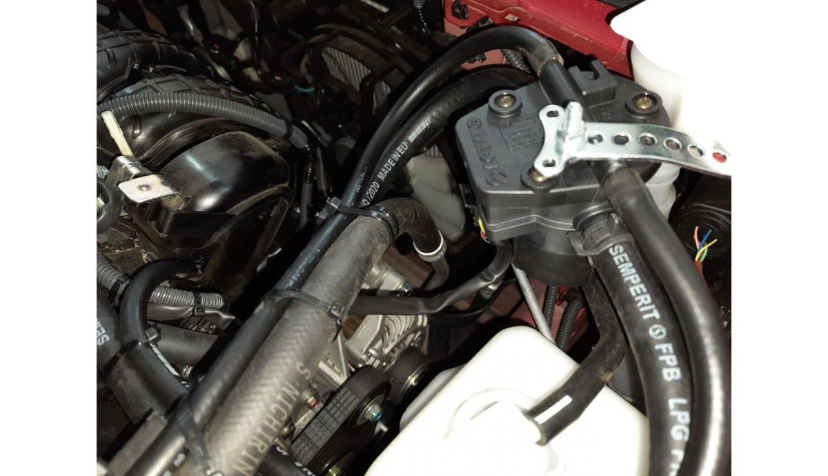 Установка ГБО на Mercedes Benz GL 550
