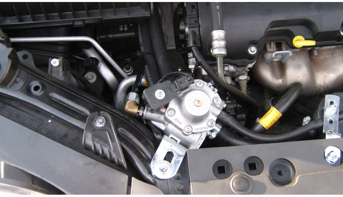 Установка ГБО на Chevrolet Aveo 1.4 2016