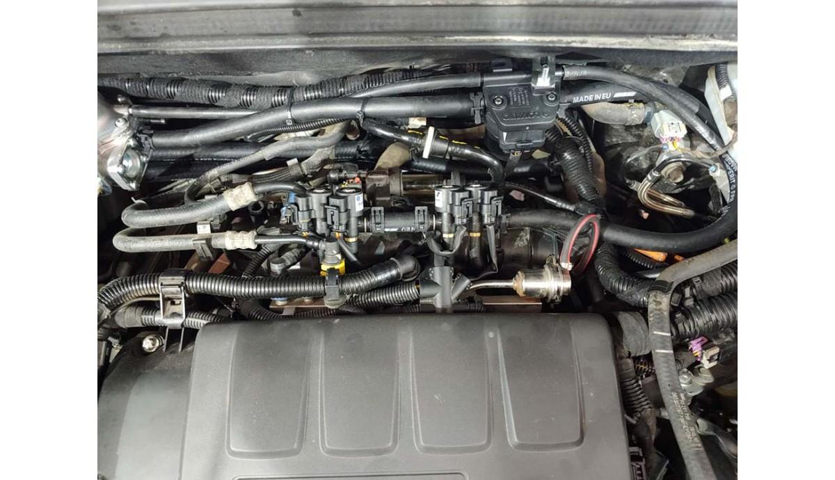 Установка ГБО на Chevrolet Orlando 1.4 T 2014