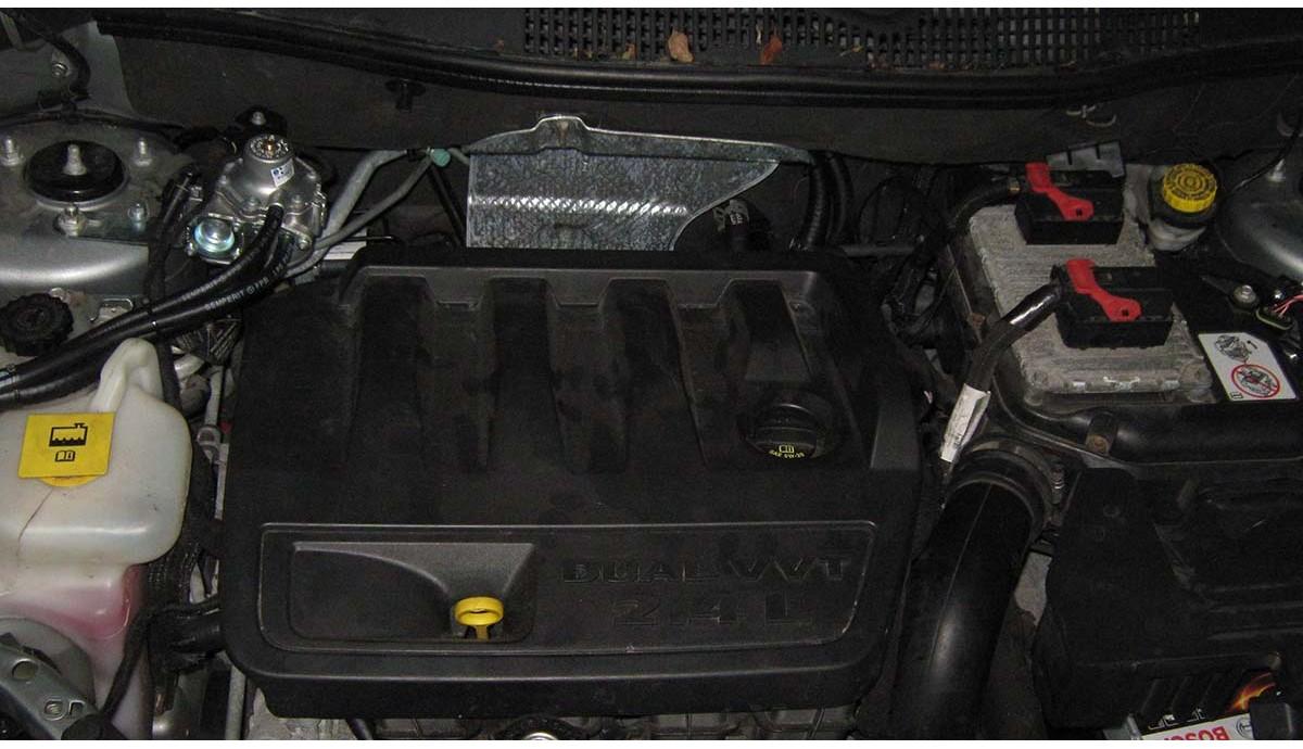 Установка ГБО на  Jeep Compass 2.4 2014