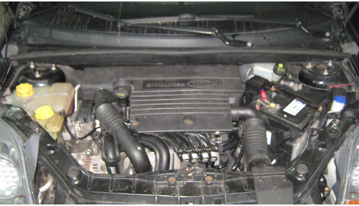 Установка ГБО на FORD FIESTA 1.4 2007
