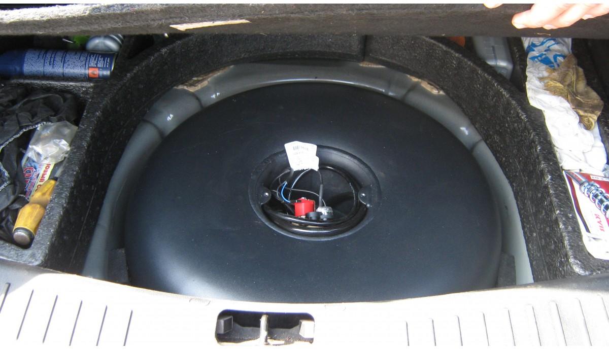 Установка ГБО на Ford Foсus 1,6 2010