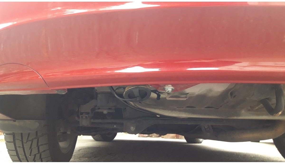 Установка ГБО на Honda Accord Coupe 2.4 2012