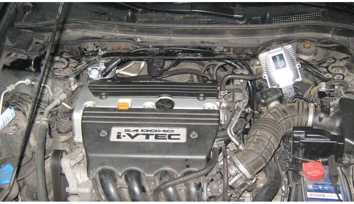 Установка ГБО на Honda Accord 2.4 2009