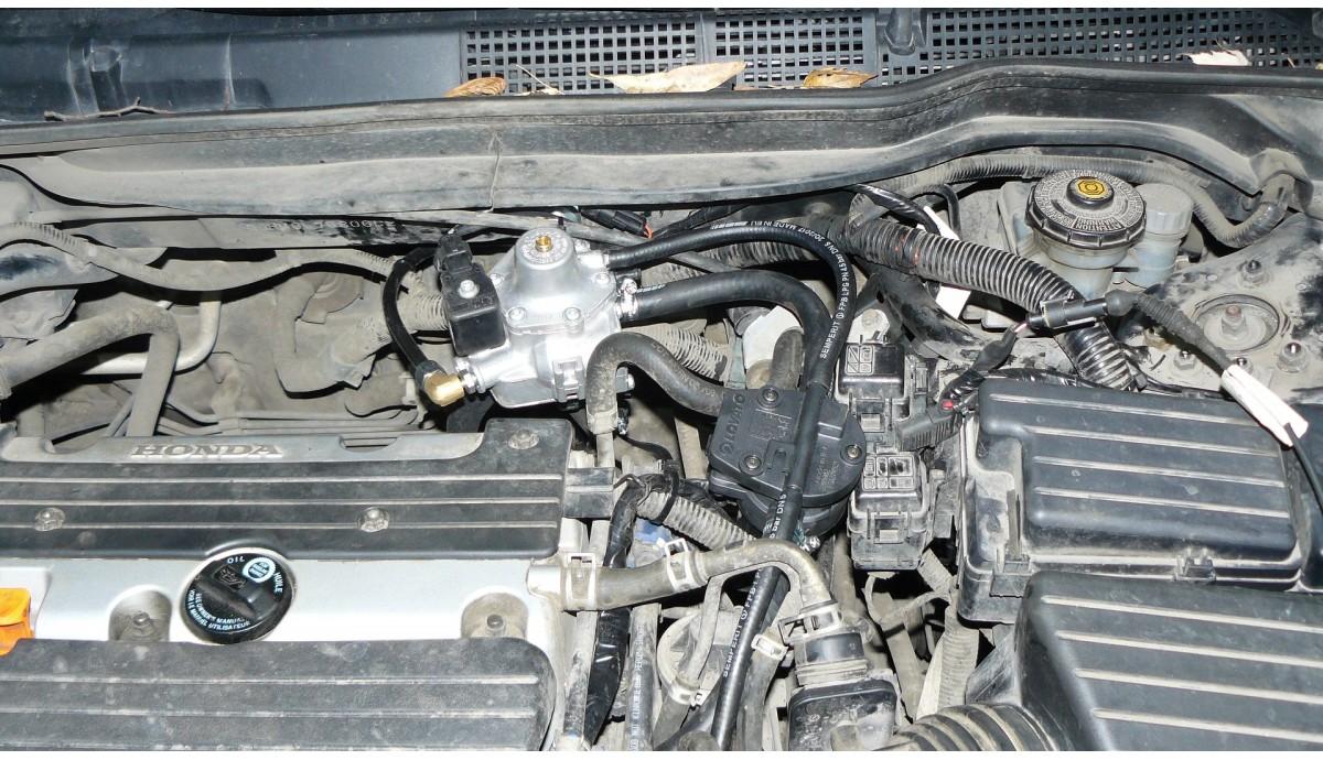 Установка ГБО на Honda Accord 2.0 2006