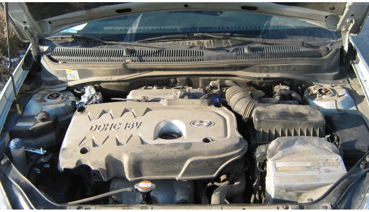 Установка ГБО на  Hyundai Accent 1.6 2007