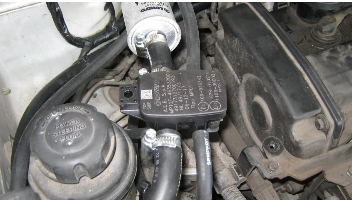 Установка ГБО на Hyundai Tucson 2.0 2018