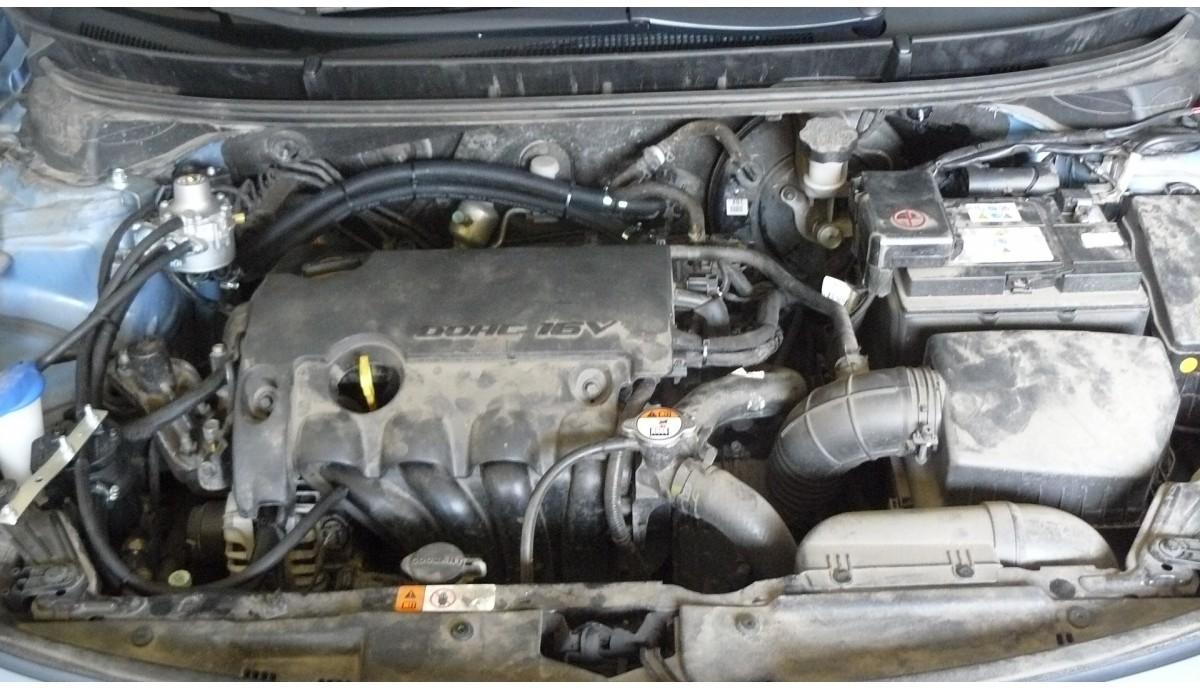 Установка ГБО на Hyundai i30 1.4