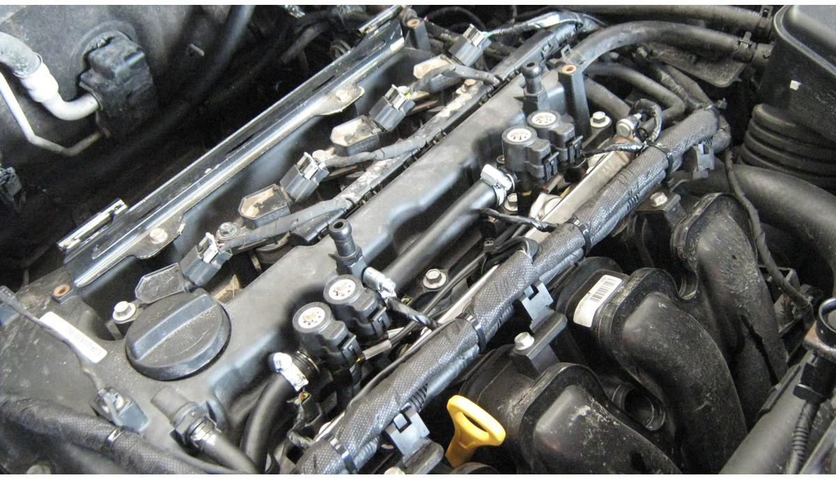 Установка ГБО на Hyundai ix35 2.0 2010