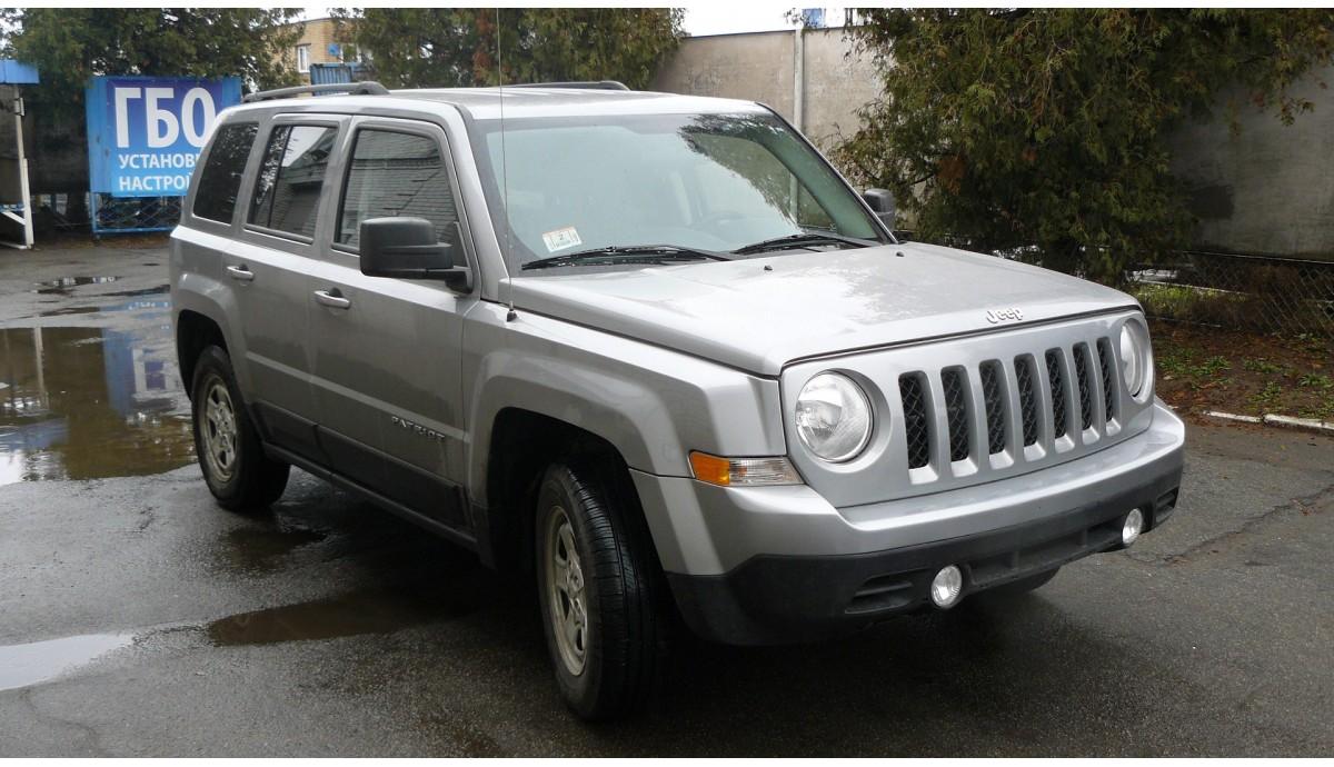 Установка ГБО на Jeep Patriot 2.4