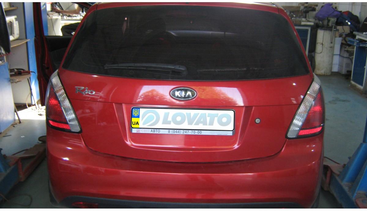 Установка ГБО на Kia Rio 1.4 2005