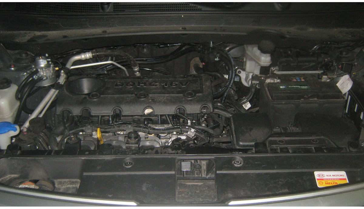 Установка ГБО на Kia Sportage 2.0 2011