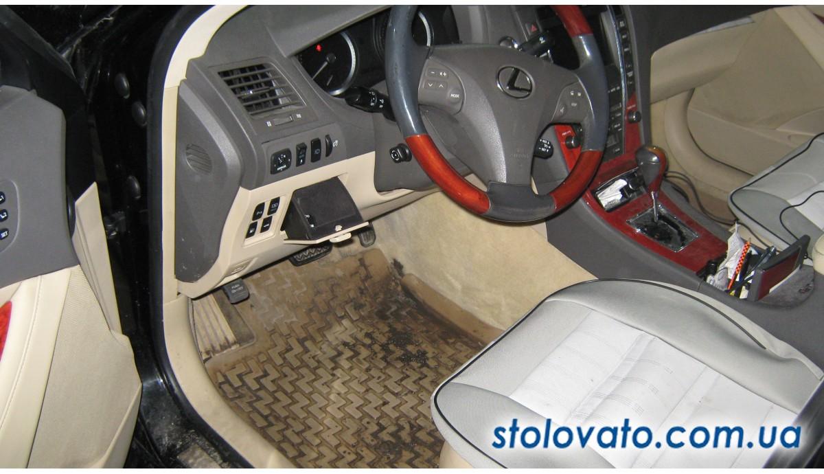 Установка ГБО на Lexus ES 350 3.5 2007