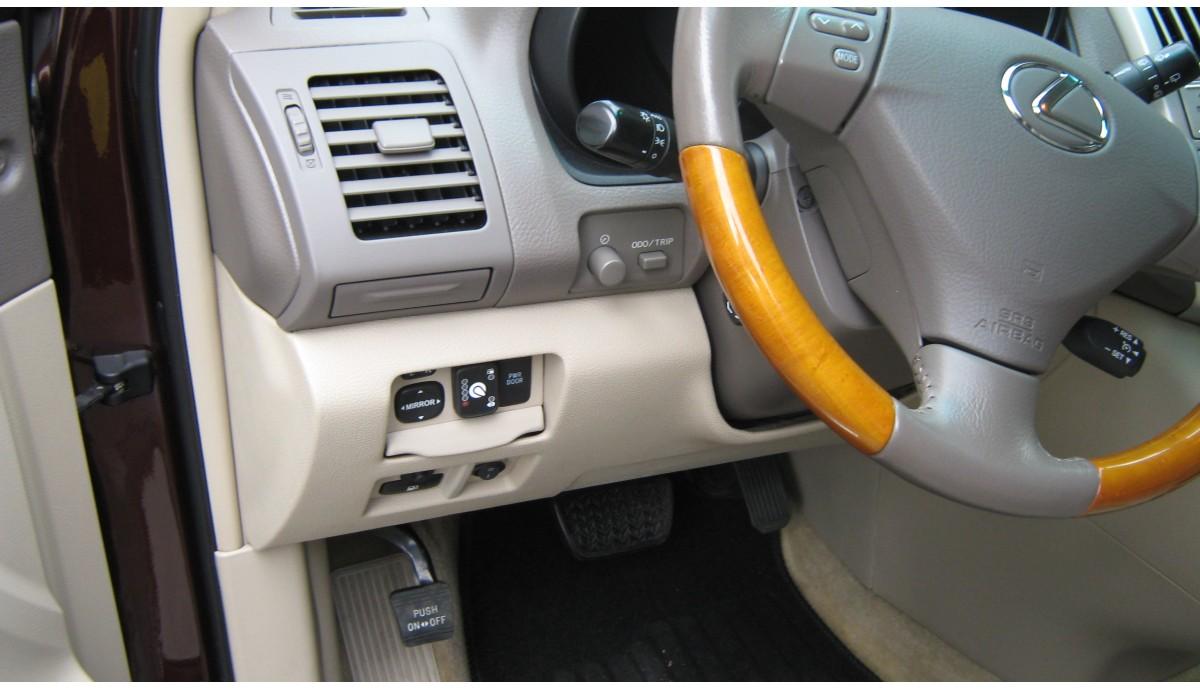 Установка ГБО на Lexus RX 350 2008