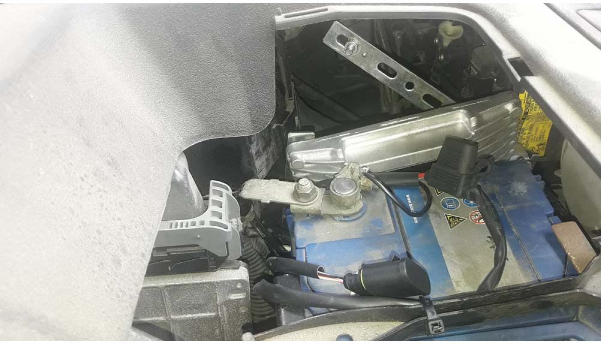 Установка ГБО на Lexus RX -350  2009