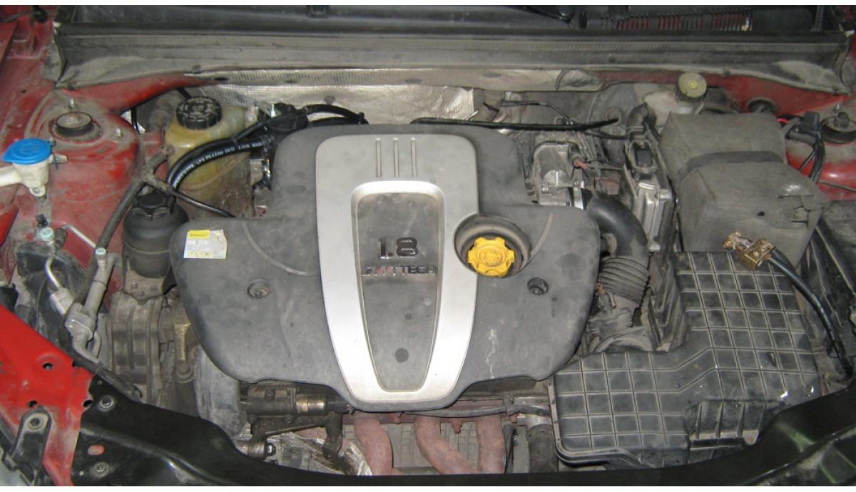 Установка ГБО на MG550 1.8, 2012