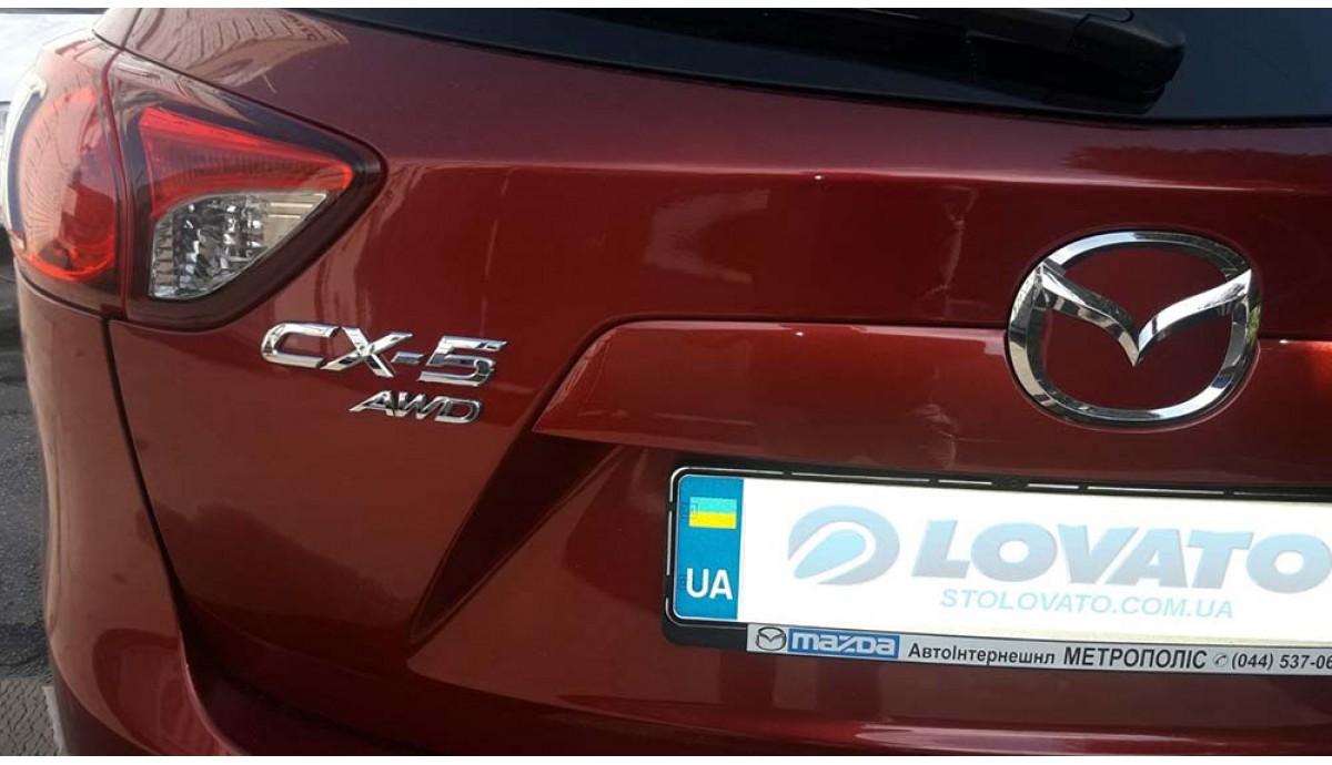 Установка ГБО на Mazda CX-5 2.0 2012 (прямой впрыск топлива)