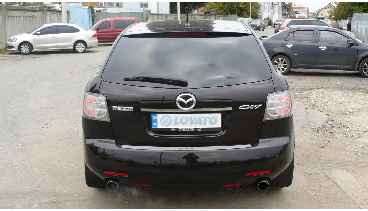 Установка ГБО на Mazda CX-7 mzr 2.3 disi turbo