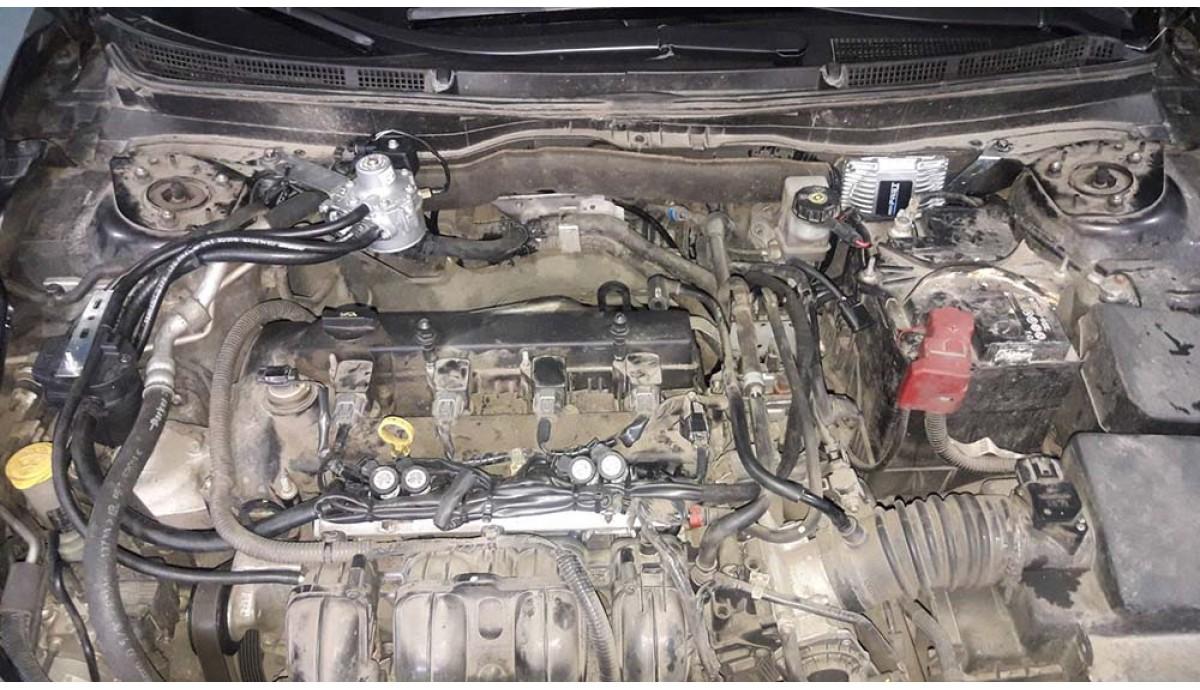 Установка ГБО на Mazda 6 2.0 2011