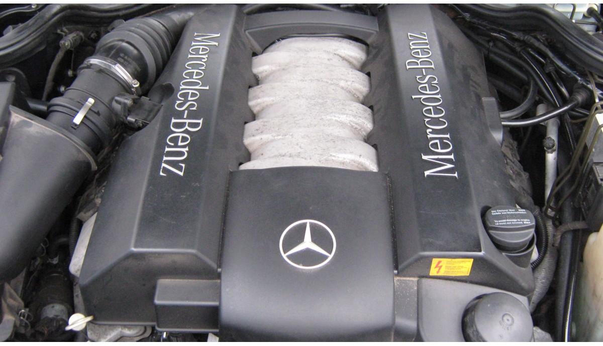 Установка ГБО на Mercedes-Benz E430 4.3 2000