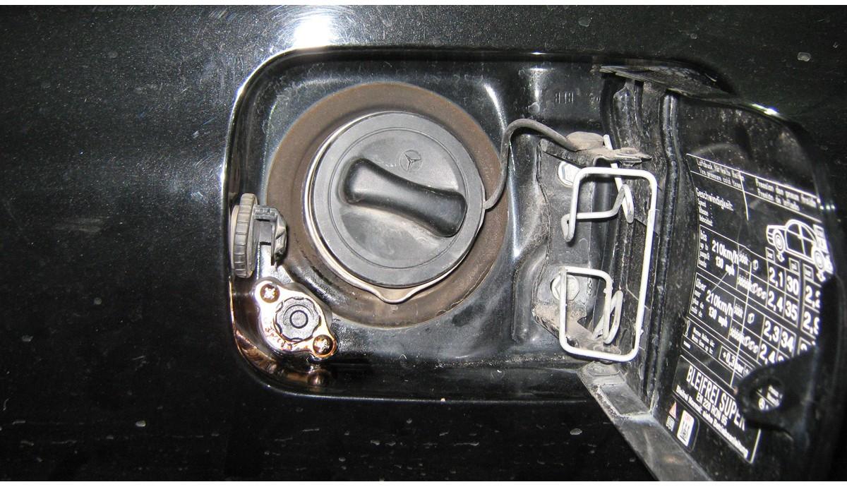 Установка ГБО на Merсedes-Benz S500 5.5 2002