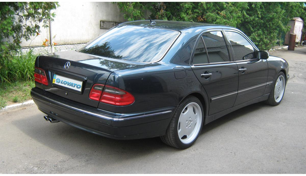 Установка ГБО на Mercedes Benz E420 2001