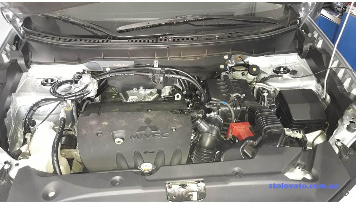 Установка ГБО на Mitsubishi Outlander Sport 2.0 2015