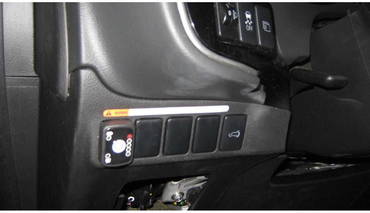 Установка ГБО на Mitsubishi Outlander 3.0 2016