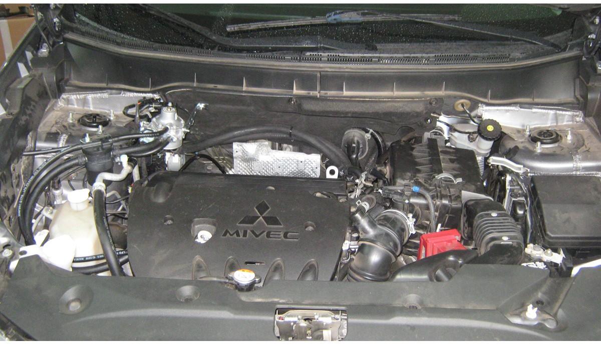 Установка ГБО на Mitsubishi ASX 1.6 2014
