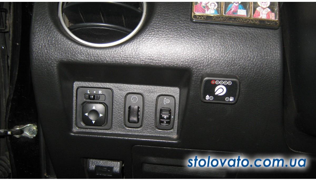Установка ГБО на Mitsubishi Outlander 2.0 2000
