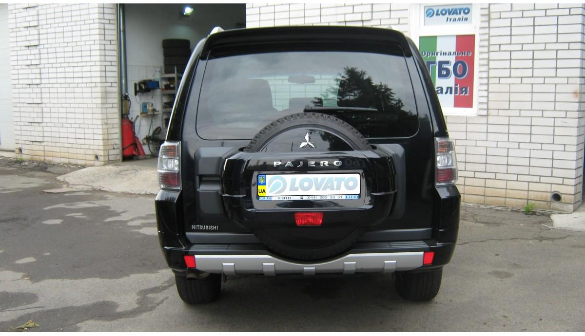Установка ГБО на Mitsubishi Pajero Wagon 3.0 2010