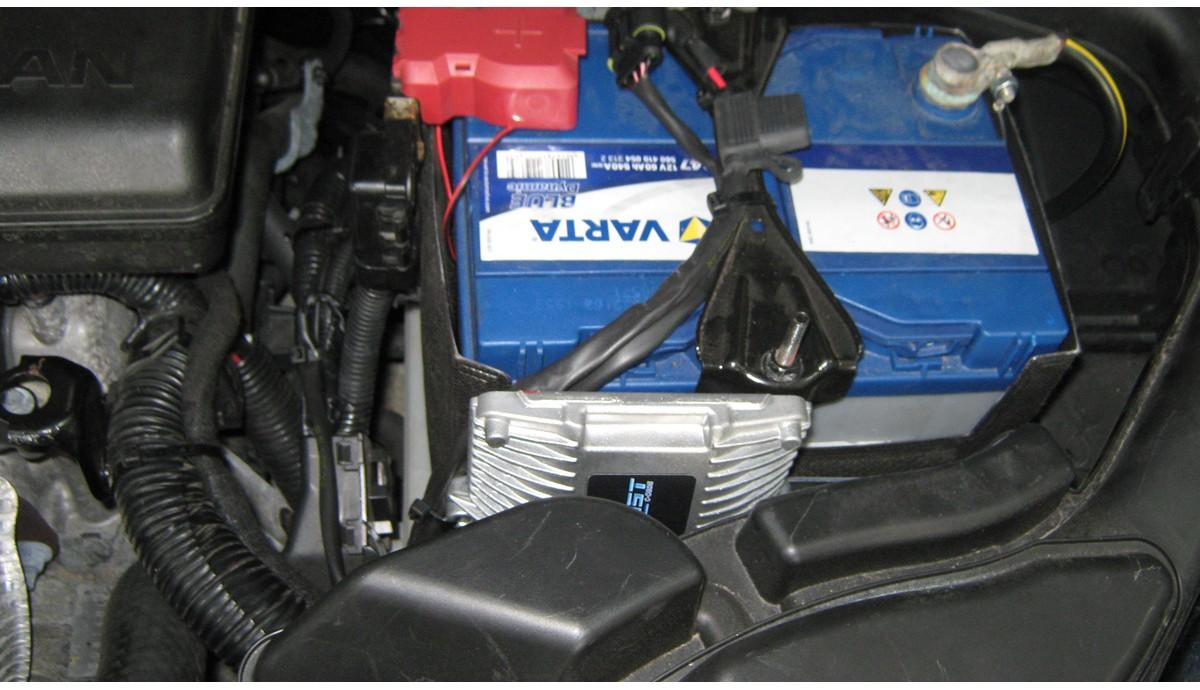 Установка ГБО на Nissan Rogue 2.5 2014