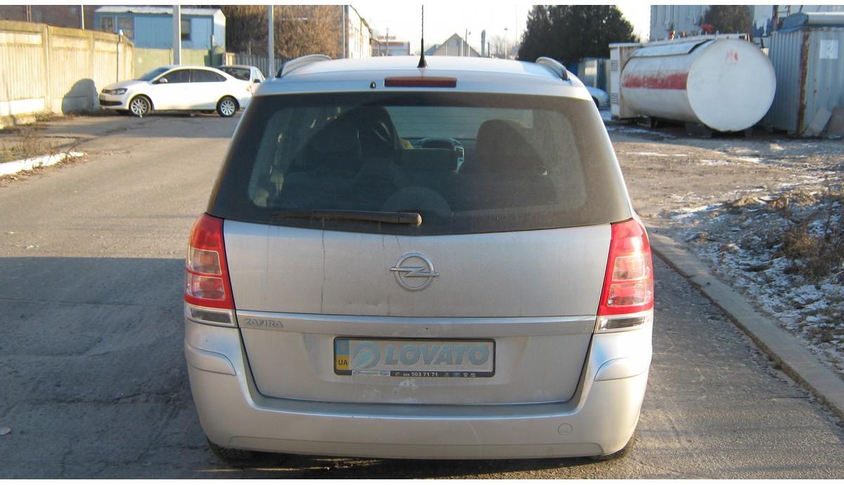 Установка ГБО на Opel Zafira 1.8 2012