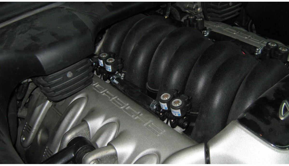 Установка ГБО Porsche Cayenne 4.5 2004