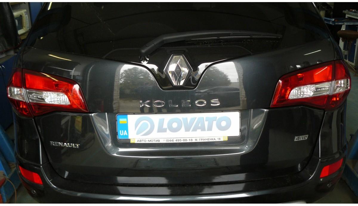 Установка ГБО на Renault Koleos 2.5