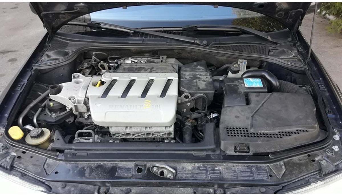 Установка ГБО на Renault Laguna 1.8 2004