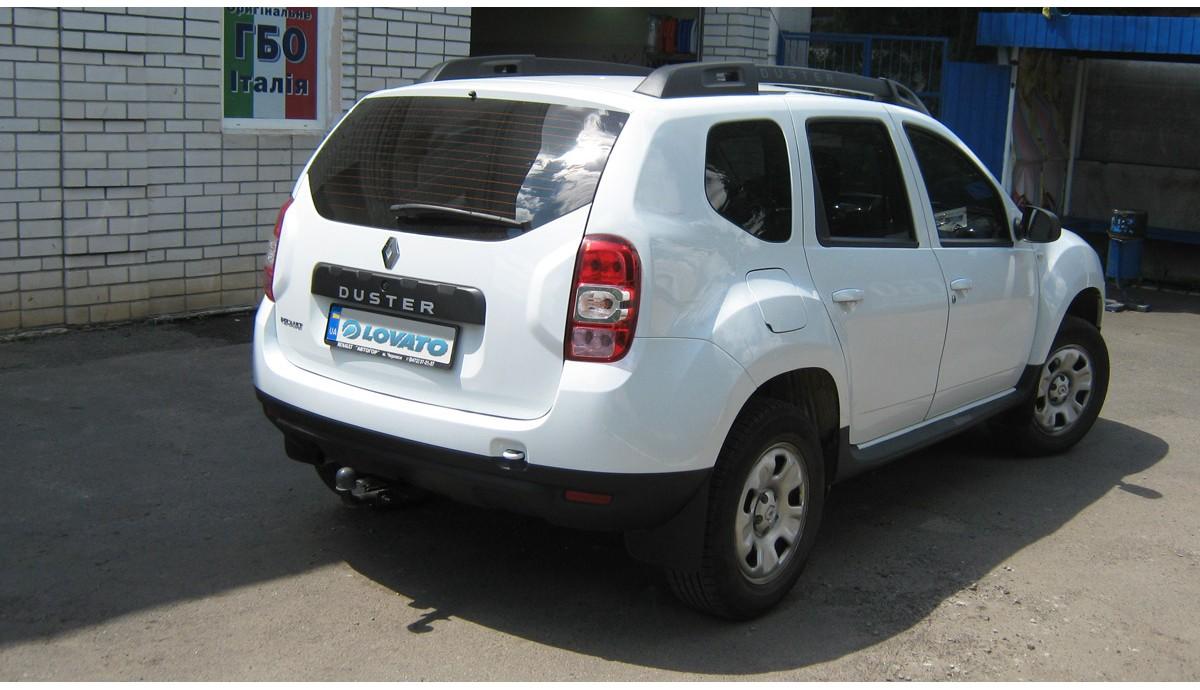 Установка ГБО на Renault Duster 1.6 2015