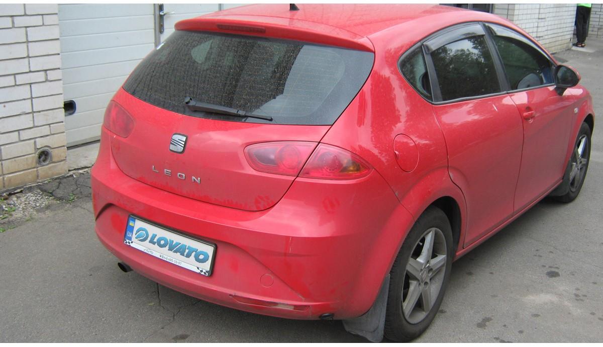 Установка ГБО на SEAT Leon 1.4 2011