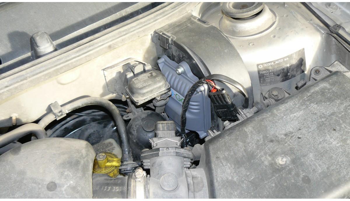 Установка ГБО на Skoda Octavia 1.8 turbo 2007