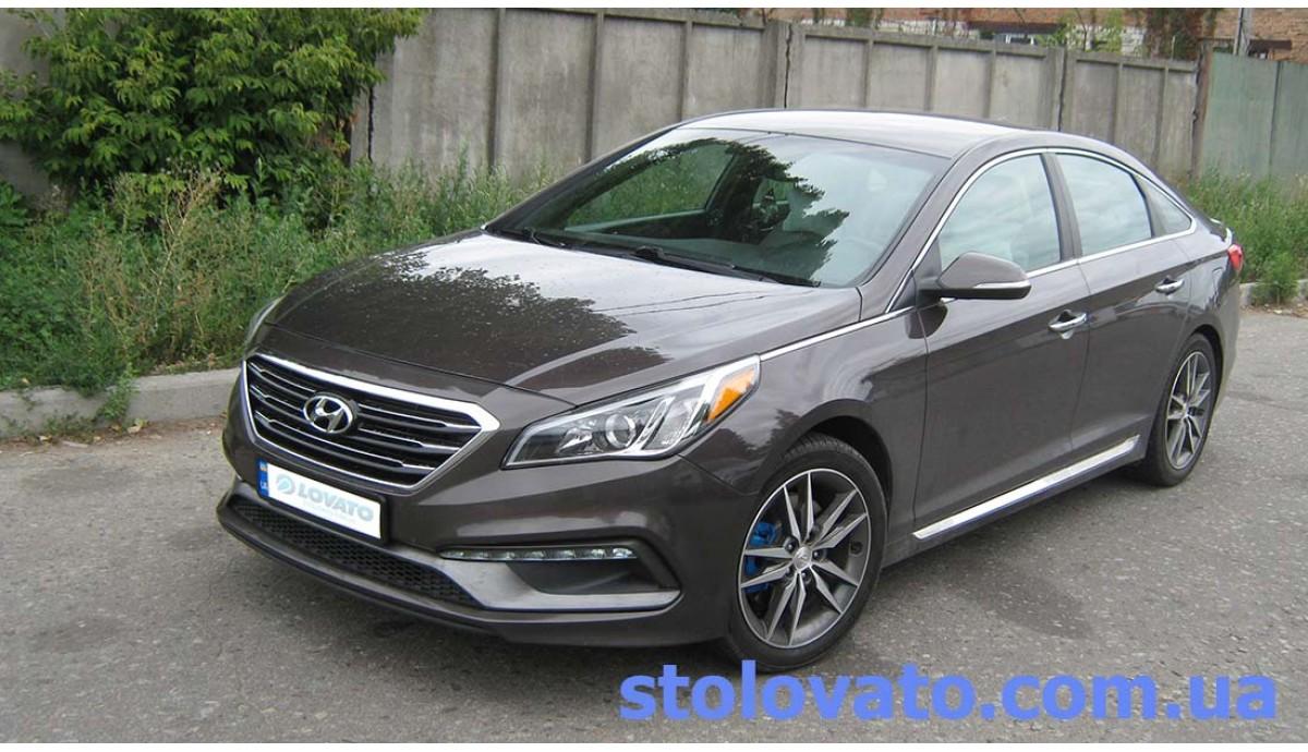 Установка ГБО на Hyundai Sonata 2.0t 2014