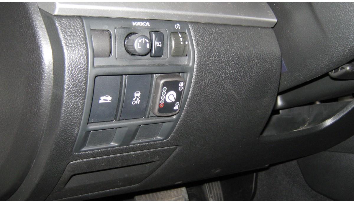 Установка ГБО на Subaru Outback 2.5 2014